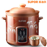 SUPOR/苏泊尔 DG40YC806-26电炖锅炖盅迷你*陶瓷煲汤全自动