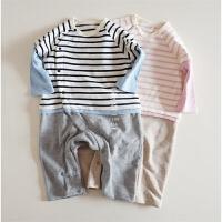 日系全棉爬服 婴幼儿连体衣~~面料耐洗耐穿又实用 神清气爽