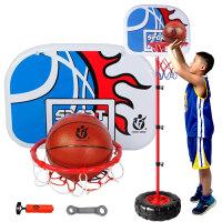 充气大号儿童小孩子篮球架儿童生日礼物可升降女孩男孩小学生 C款轮胎1.7米+2球 D款轮胎升级 2米+2球+气筒