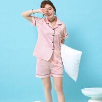 新款宫廷睡衣套装女春秋丝绸半袖5分裤睡衣女夏季性感公主蕾丝薄