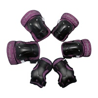SP-05儿童溜冰鞋护具 安全防护装配 加厚护具六件套