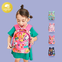 幼儿园书包儿童小学生背包女童一年级双肩包男三到五岁可爱潮宝宝