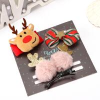 圣诞装饰品店铺节日主题氛围场景布置店面橱窗创意手环礼盒小礼品