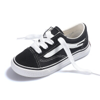 儿童帆布鞋女童鞋子男童板鞋小白鞋黑布鞋