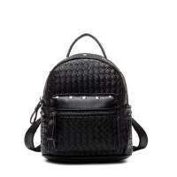 小背包铆钉女士双肩包韩版pu时尚潮简约旅游包迷你新款包包