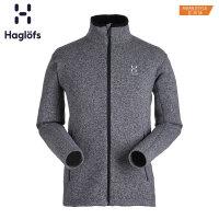 Haglofs火柴棍户外运动男款秋冬加厚保暖舒适抓绒衣603381 亚版