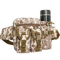 战术腰包多功能军迷包男女户外运动小包迷彩旅行水壶腰包