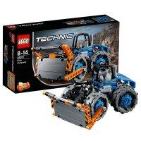 【当当自营】LEGO乐高推土压路机 42071