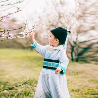 儿童国学汉服中国风男童古装侠客公子服宝宝影楼摄影写真主题服装