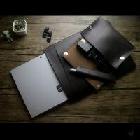 【优选】新款微软平板电脑surface pro3/4/5保护套book2内胆包lap皮套 疯马棕(SURFACE LA