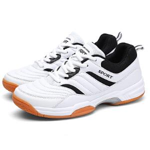 新百伦支撑 新款正品青少年羽毛球鞋男士运动训练鞋耐磨休闲羽毛球鞋子高弹性