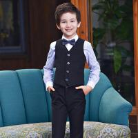 男童表演西装大童钢琴演出小西服 儿童礼服马甲套装花童男孩主持人