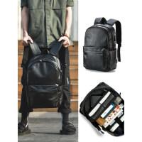背包男士双肩包时尚潮流大学生书包休闲电脑大容量旅行商务男包潮