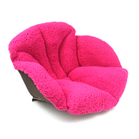 毛绒坐垫椅子垫加厚办公室靠垫冬榻榻米坐垫学生保暖座垫 58*39*39cm