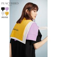 太平鸟针织披肩女2020年春秋装新款韩版斗篷式外搭上衣纯色时尚