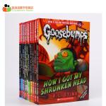 #美国进口 经典鸡皮疙瘩系列 Classic Goosebumps (10册)全球销量超4亿、被译为32种文字、改编成