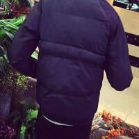 冬季短款棉衣男士加肥加大码运动棒球服青少年保暖棉袄外套潮男装 XXXXXL (200至220斤可穿)