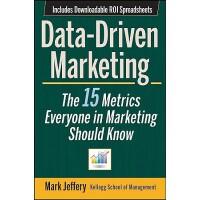 英文原版 数据驱动市场营销 Data-Driven Marketing: The 15 Metrics Everyon