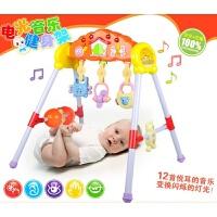 维莱 婴儿玩具0-1岁宝宝大号健身架 电动音乐儿童健身体育玩具7012B
