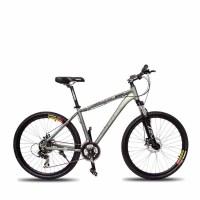 山地车骑士600双蝶刹21速变速越野山地自行减震变速男女学生单车舒适