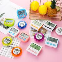 电子定时器厨房计时提醒器学生时间管理器闹钟倒计时器秒表迷你