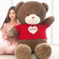 女友礼物睡觉抱布娃娃毛绒玩具熊抱抱熊1.6米玩偶公仔1.8米