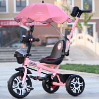 儿童三轮车脚踏车1-2-3-4-5-6岁大号宝宝手推车童车自行车带斗