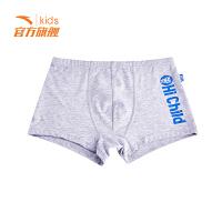 安踏儿童 春季运动内裤3件组合套装新款中大童男生儿童短裤四角裤