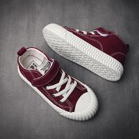 男童鞋�和�帆布鞋高�团�童�干布鞋