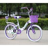 自行车儿童礼品自行车儿童自行车20寸新款16/18寸女孩单车7/9/10/13/14岁大小学生童车 靠背
