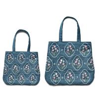 手工DIY布艺刺绣包包材料包套装单肩手挽亲子大布袋