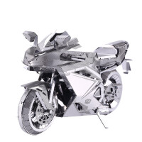 3D立体金属拼图模型重型机车摩托车diy手工拼装模型礼物