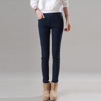 加绒打底裤外穿女裤新款韩版加厚黑色保暖秋冬季小脚铅笔裤子