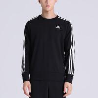 adidas阿迪达斯男装卫衣圆领套头休闲运动服BQ9645