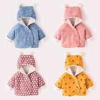宝宝棉衣冬装新款女童洋气外套