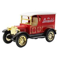 可开门古典老爷车儿童玩具合金车模声光回力合金汽车模型玩具礼物