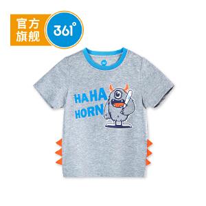 【下单立减2折价:23.8】361度男童短袖针织衫夏季新款N51824204