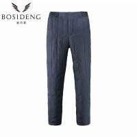 波司登(BOSIDENG)2017新品羽绒裤女 中老年内穿直筒中腰百搭长裤B1701622