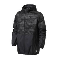 adidas阿迪达斯男子外套夹克防风服2018年新款休闲运动服BQ5528