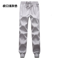 男士秋冬季运动裤休闲裤宽松薄款长裤棉直筒加绒加厚卫裤