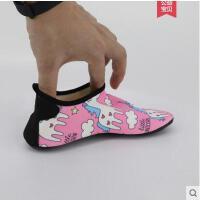 独角兽母女同款儿童沙滩鞋ins同款室内防滑地板鞋游泳运动鞋