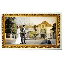 任意尺寸定制新款实木艺术相框油画框十字绣钻石画配框装裱 定制尺寸联系客服