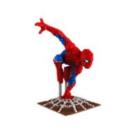 微型钻石小颗粒积木拼装益智玩具拼插玩具美国队长钢铁侠模型