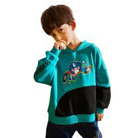 【2件3折:89.7元】小虎宝儿男童炸街卫衣薄款2021春秋新款儿童上衣