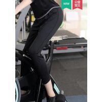 健身跑步裤新款瑜伽服女运动户外瑜伽裤舒适宽松七分裤哈伦裤