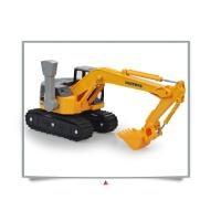小号工程车儿童挖土车模型玩具车履带挖掘机沙地玩具礼物