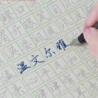 成人行书行楷楷书字帖凹槽练字板魔幻钢笔练字帖神器