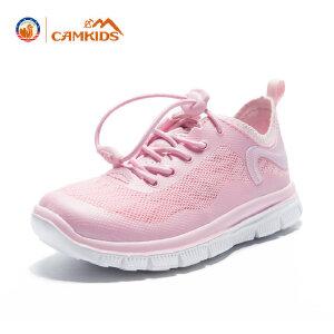 CAMKIDS男童运动鞋跑步鞋春夏季儿童鞋子女 中大童男孩休闲鞋