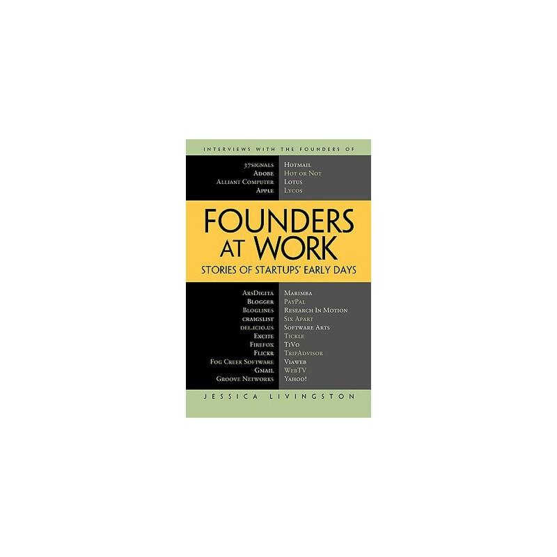 【预订】Founders at Work: Stories of Startups' Early Days 预订商品,需要1-3个月发货,非质量问题不接受退换货。