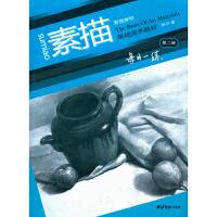 基础美术教材每日一练素描静物 静物画素描技法教程 基础初学 西泠印社出版社
